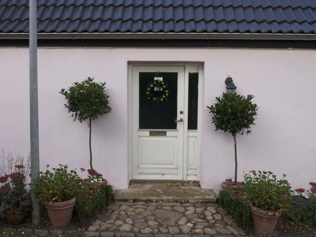 Havehusets indgang