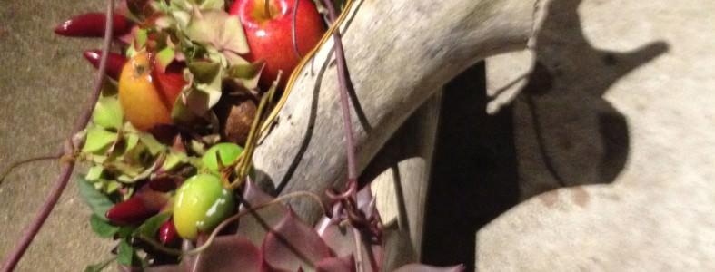 dekoration med grene